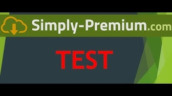 [Review] Simply-Premium.com Multihoster Test
