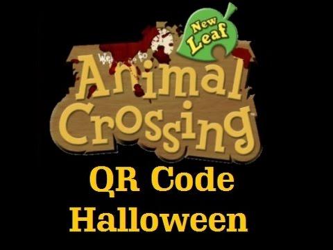 Animal crossing new leaf qr code halloween horreur for Animal crossing new leaf arredamento