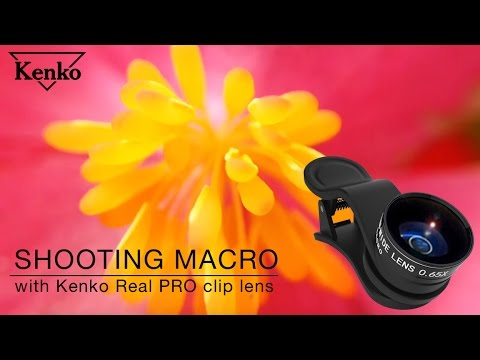 How To Shoot Macro With Kenko Real PRO Wide&Macro Clip Lens