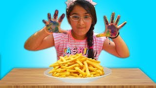 Malak Pretend Play Wash Your Hands Nursery Rhymes Song - Video For Children