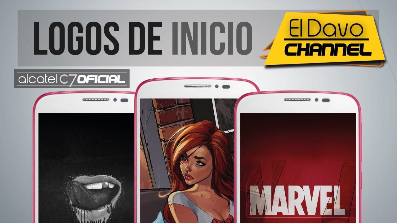Logos De Inicio  Logo Bin  - Alcatel Pop C7 - Parte 1