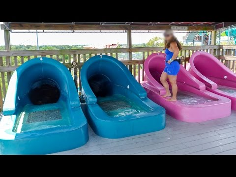 Adventure Island Tampa - Racer Water Slide
