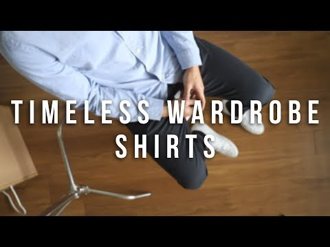 Timeless Wardrobe | Men's Essentials | Shirts