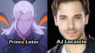 Characters and Voice Actors - Voltron: Legendary Defender (Season 3)