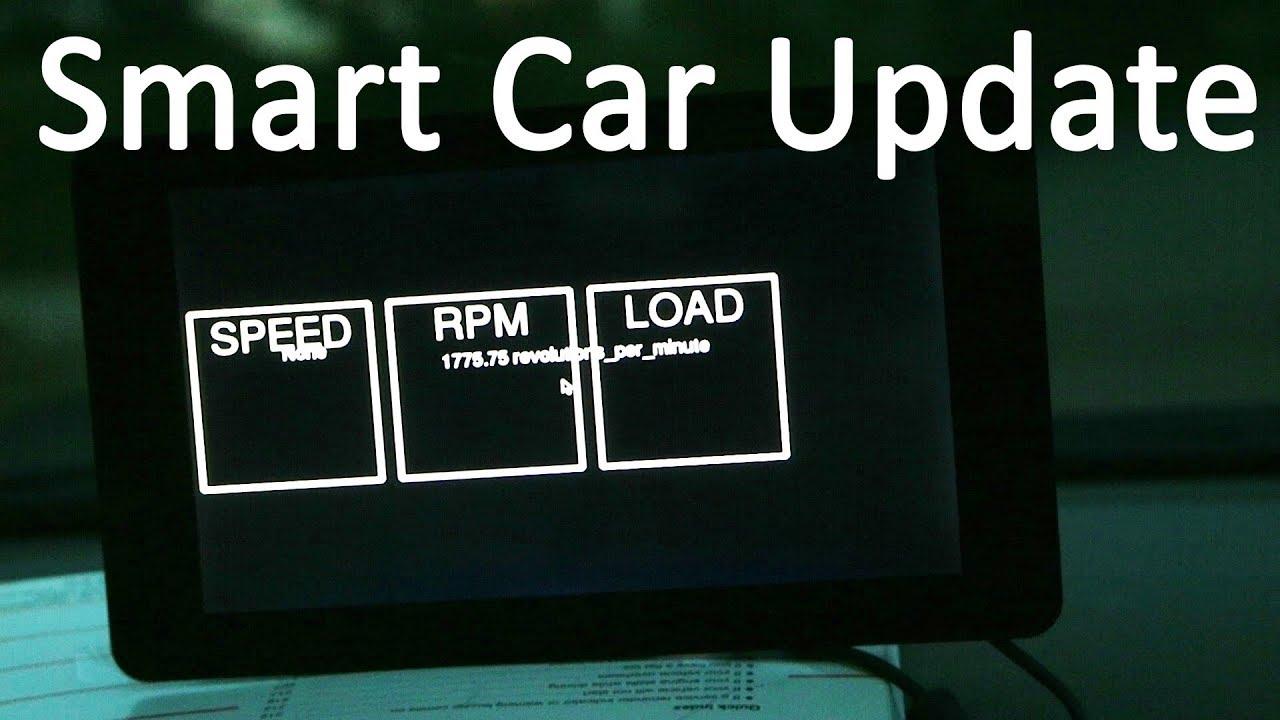 DIY Raspberry Pi Smart Car Update! - YouTube