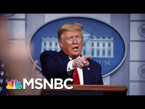 Has Trump Replaced His Rallies With Coronavirus Briefings? | MSNBC