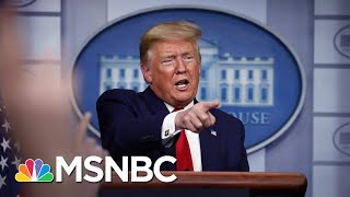 Has Trump Replaced His Rallies With Coronavirus Briefings? | MSNBC
