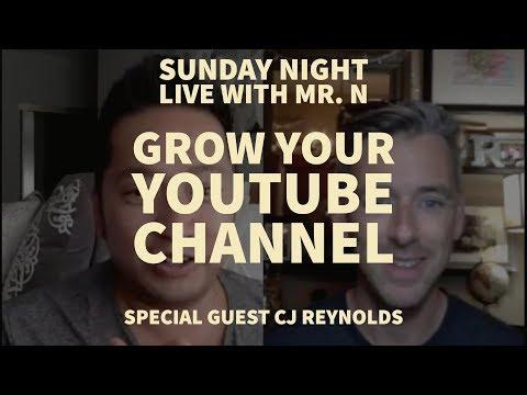 How To Grow Your Teacher YouTube Channel w/ CJ Reynolds