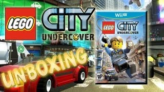 Lego City Undercover Limited Edition Unboxing