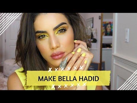 Maquiagem Amarela Bella Hadid!