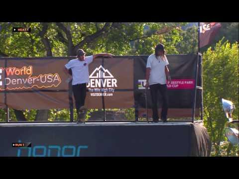 REPLAY - Skateboard Park Pro Semi-Final - FISE Denver 2016