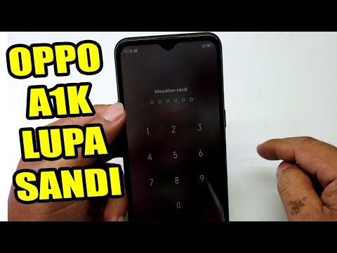 Cara Hard Reset Oppo A1k Lupa Password Oppo A1k Cph1923 Lupa Sandi Youtube
