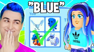 Trading *STRANGERS* Their *FAVORITE COLOR* In Adopt Me Roblox PART 3!! Adopt Me Trading FLEX OFF