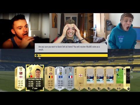 OMFG!! DIE HEFTIGSTEN DISCARD PACKS IN DER GESCHICHTE VON FIFA ULTIMATE TEAM!!