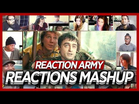 Swiss Army Man Official Trailer Reaction's Mashup (Movie 2016)