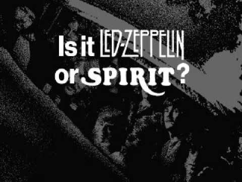 Led Zeppelin VS  Spirit (easiest comparison)