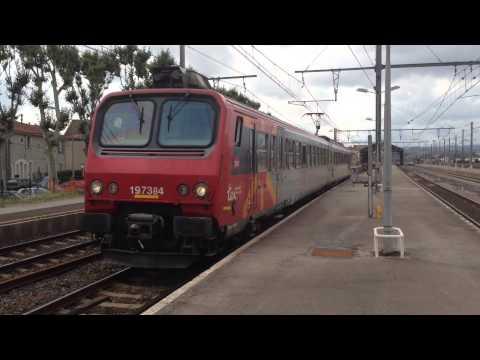 Trenes en Francia (6 Agosto 2013)