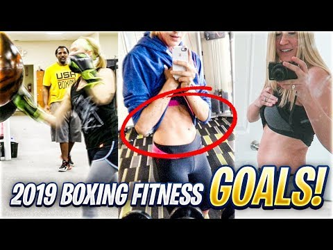 MY 2019 FITNESS GOALS | KSI vs LOGAN PAUL REMATCH UNDERCARD TRAINING