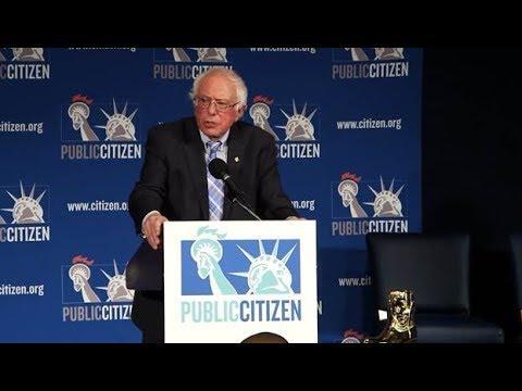 Bernie Sanders' Speech at Public Citizen's 2018 Gala