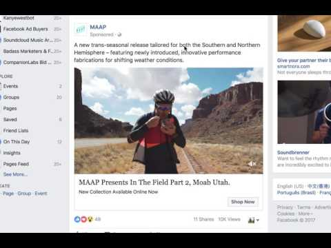 FadFeed: Fill your feed with Facebook Ads!