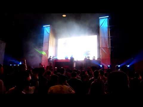 Doctor P  Big Boss  Benga & Skream   @ Nocturnal Festival 2010