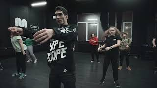 Hip Hop dance practice with Maximus / Kiev