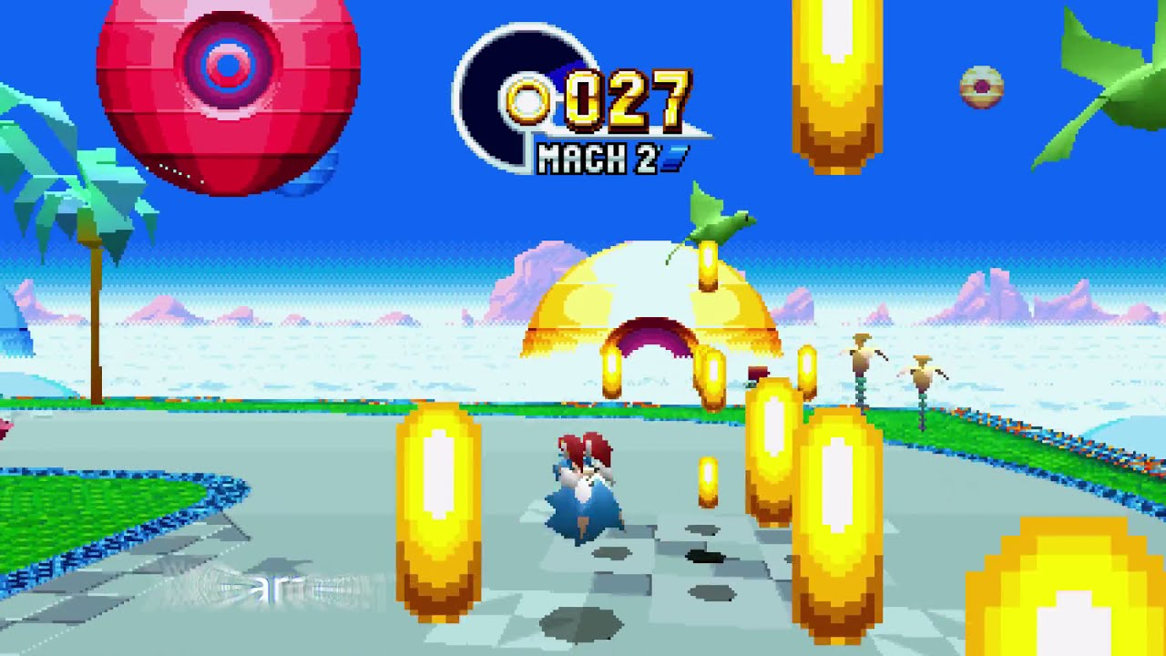 Sonic Mania : Green Hill Zone part 1