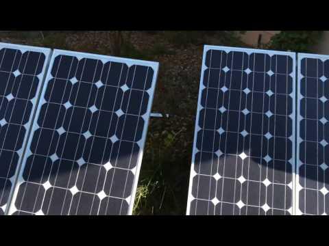 My Ebay Solar Array.  Plug and play #2.