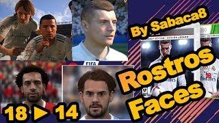 Actualizar Rostros/Faces 2018, para Fifa 14 PC Explicado