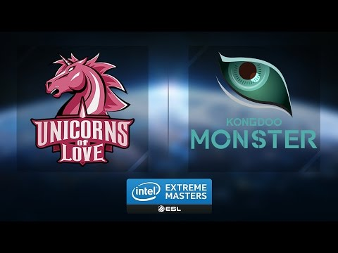 LoL - Kongdoo Monster vs. Unicorns of Love - Group B - IEM Katowice 2017