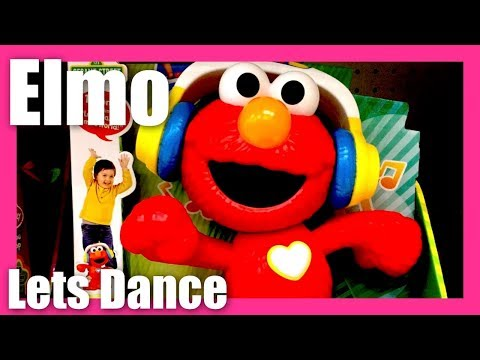 1fbd131a0b327 Lets Dance Elmo Toy Sing With Elmo Sesame Street La La La La! Move Groove