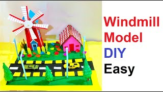 Amazing Windmill Project | Wind Turbine Project for a School Science Project