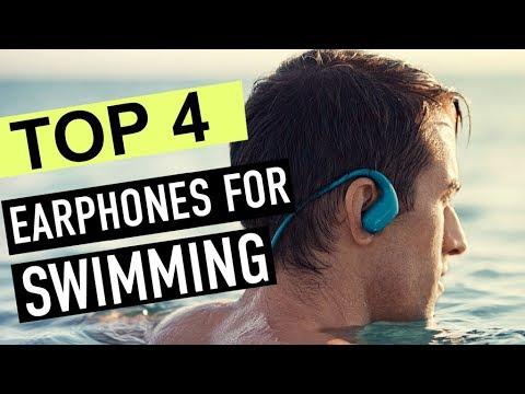 BEST 4: Earphones For Swimming 2018