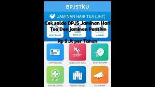 Download CARA CEK SALDO BPJS Jaminan Pensiun Dan Jaminan Masa Tua Terbaru 2019 Mp3 and Videos