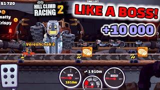 Hill Climb Racing 2 - 10000 points TRACK 1 in SUMMER THRILLS & SPILLS