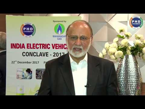 CEO Hero Electric on 'India Electric Vehicle Conclave 2017'| PHD Chamber
