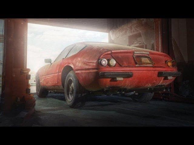 Ritrovamento da 2 milioni di dollari in un Garage in Giappone - Ferrari Daytona 365 GTB/4