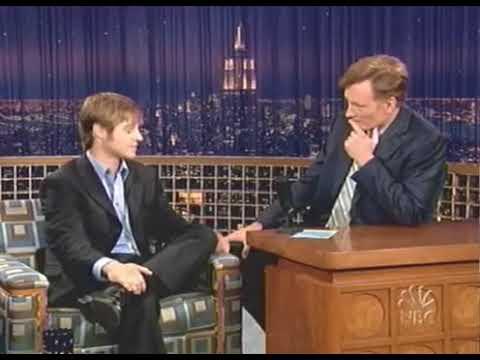Benjamin Mckenzie on Conan O'Brien 2004 Very Funny!