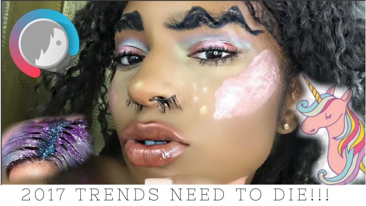 2017 Makeup Trends that NEED to DIE in 2018!   iamlindaelaine