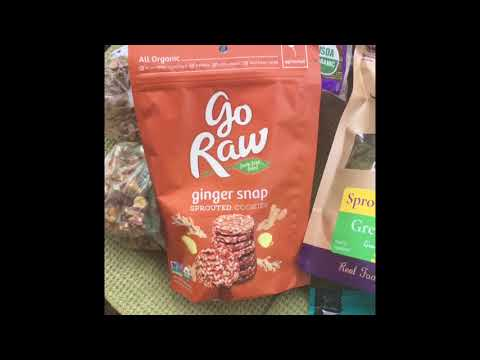 Raw vegan travel food haul