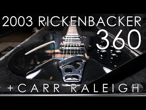 """Pick of the Day"" - 2003 Rickenbacker 360 and Carr Raleigh"
