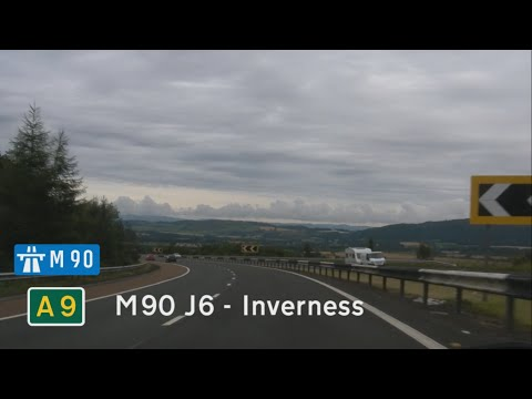 [GB] M90 J6 to Inverness (A9)