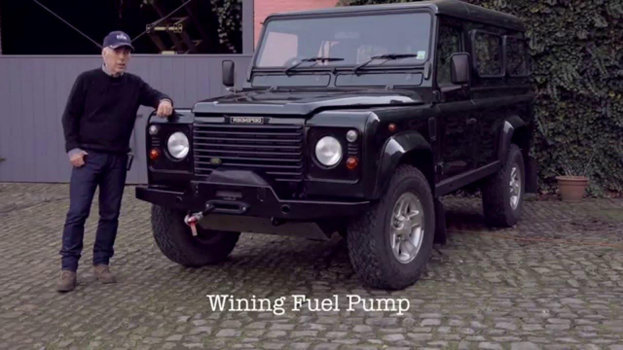 medium resolution of landrover defender td5 fuel system causes of a wining fuel pump youtube