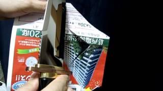 Kitano Katsumi custom bowie knife . 280mm . Blade ZDP189 and ATS 34...