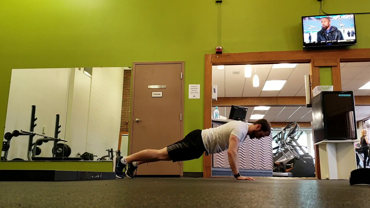 Online Personal Trainer. Chest, shoulders, and core