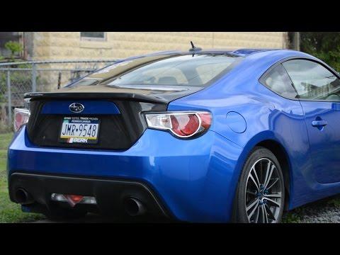 Carbon Creations Carbon Fiber Trunk Install Overview: Subaru BRZ