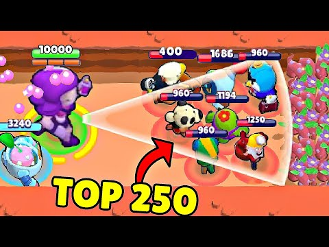 ULTIMATE TOP 250 FUNNIEST FAILS & WINS IN BRAWL STARS
