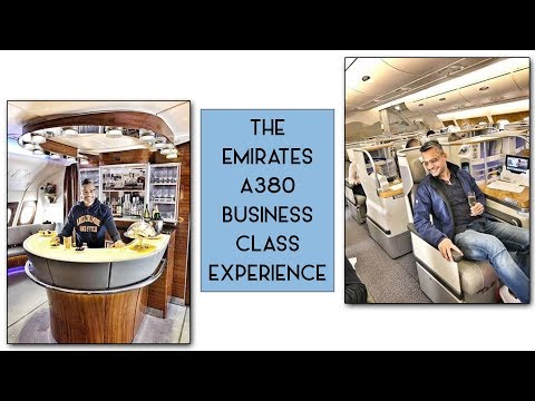 The Emirates A380 Business Class Experience | Riaan George