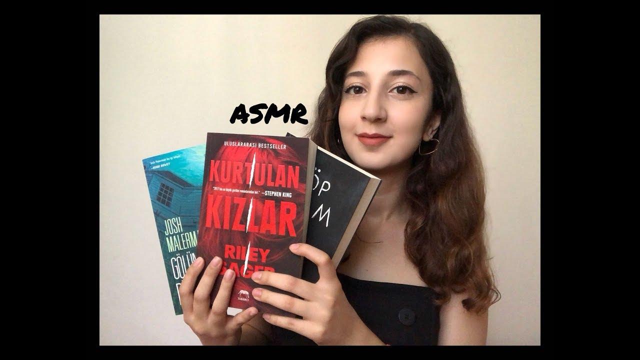 Türkçe ASMR | Barbunyacı eşliğinde Kitap Tavsiyesi ve Okuduğum Kitaplar! (Fısıltılı)