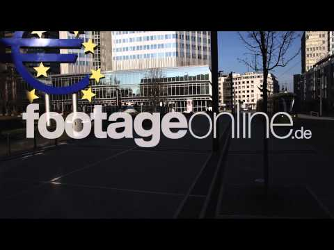 Euro Sign 01 footage 000260 HD
